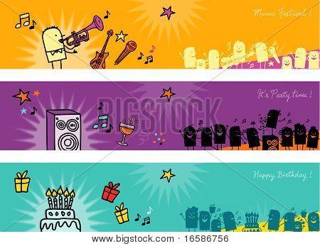 celebration banners