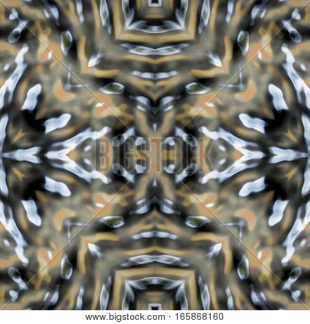 Psycho hypnotic silver grey abstract image background