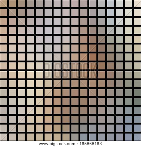 Abstract beige silver surreal modern cubes wall surface texture