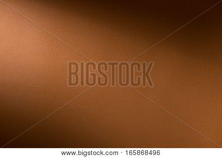 Orange Leather Swatch