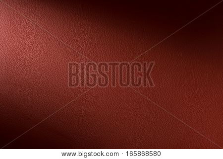 Warm Brown Leather Swatch