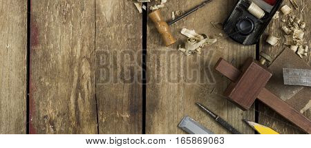 Carpentry Trade Tools Banner Image