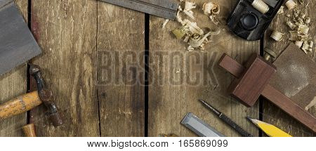 Woodworking Tools Banner Image