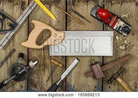 Various Carpentry Tools