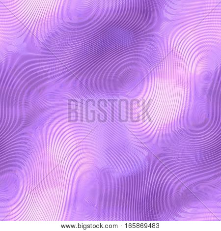 Seamless violet shiny reflection digital futuristic pattern