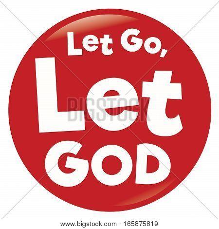 Let God take care of it reminder