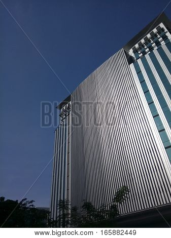 blue cloud sky bilding modern new scene shadow landscape tower travel building bright city design day