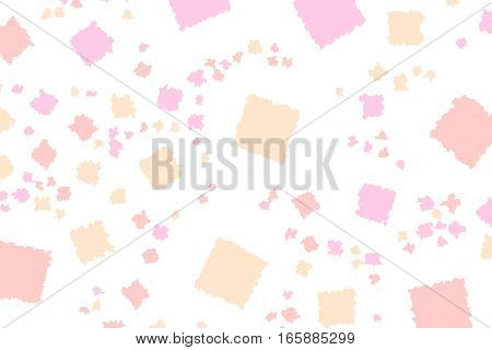 Abstract Background With Flat Pixels. Pattern For Party Concept.