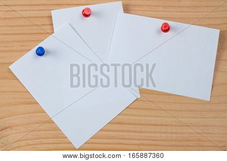 Blank portrait A4. brochure magazine isolated on wooden table, changeable background