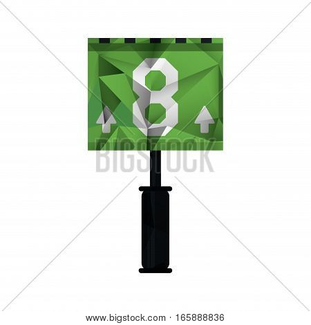 down marker american football abstract vector illustration eps 10