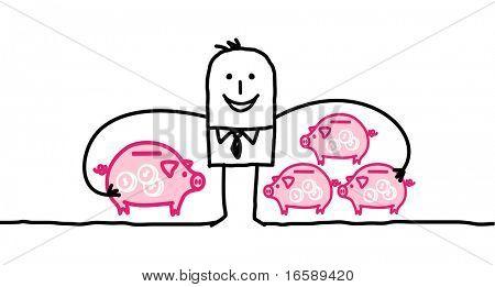 businessman & capitalism