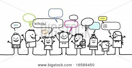 children & social network