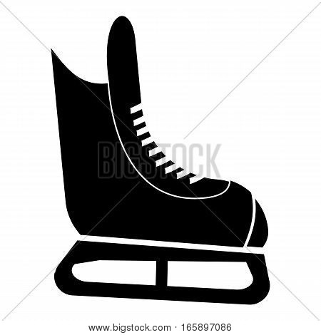 Ice skate icon. Simple illustration of ice skate vector icon for web