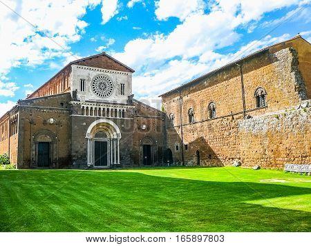 Hdr San Pietro Church In Tuscania