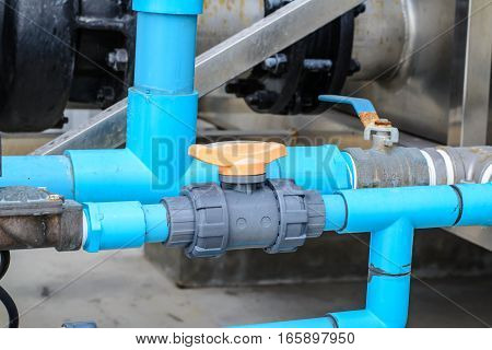 industrial pipe line refrigeration at manufacturing , Valve refrigeration in Asia