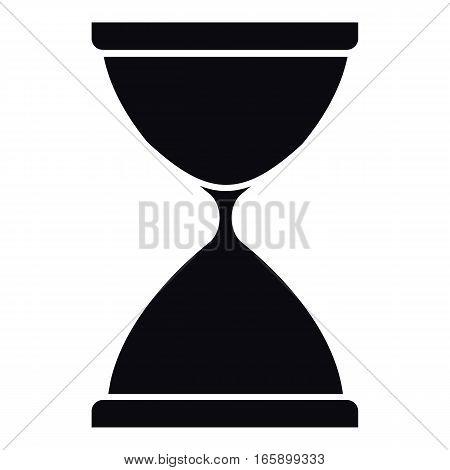Sandglass icon. Simple illustration of sandglass vector icon for web