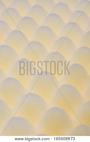 Acoustic foam surface as texture or background