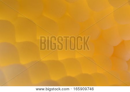 Acoustic foam as abstract background close up