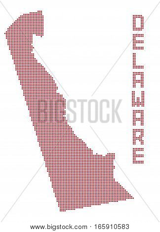 Delaware Dot Map