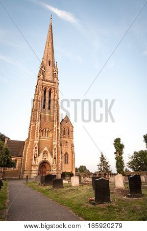 Traditional English Country Church