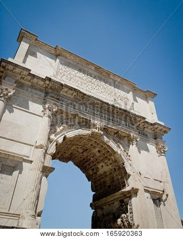 The Arch Of Constantine, Roman Forum, Rome, Italy