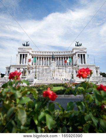Monumento Nazionale A Vittorio Emanuele Ii, Rome, Italy