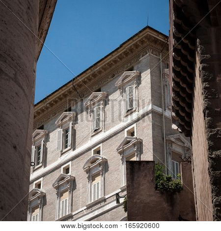 The Papal Palace, Vatican City