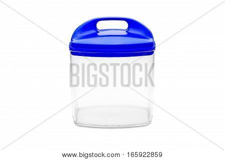 container for cereals isolated on white background