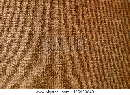 Background Pattern Brown Handicraft Weave Texture of Wicker Doormat with Copy Space for Text Decoration.