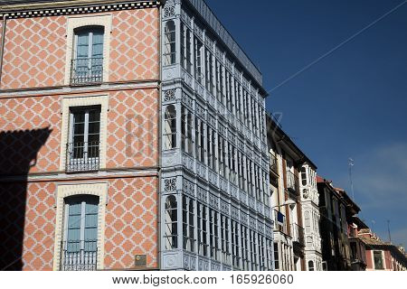 Valladolid (Castilla y Leon Spain): historic buildings near Plaza Mayor the main square of the city