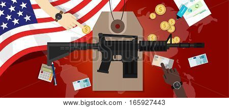 cost of war conflict economics of gun control defense cost military spending america lobby concept