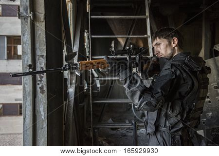 Fighter Of The Russian Special Forces