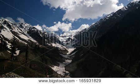Ashret Gol river and Lowari pass Khyber Pakhtunkhwa province Pakistan