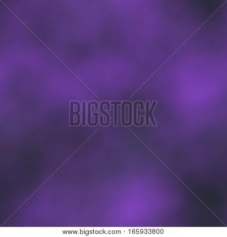 Smoky dark violet mysterious magic blank seamless space background