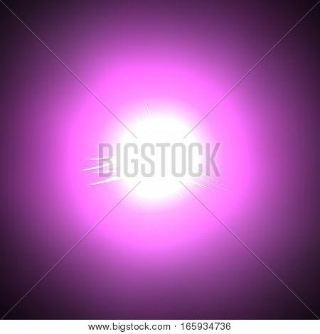 Beautiful pink violet mystic magic ball sphere ring image