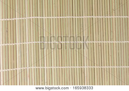 Tied Of Dried Bamboo Stalks Pattern In Japanese Style.