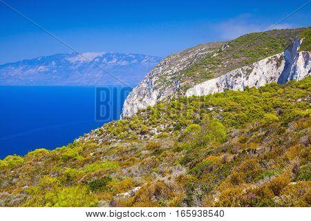 Greek Island Zakynthos, Landscape
