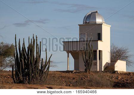 September 12, 2016 Colombia: small observatory in the Tatacoa desert