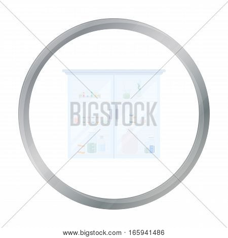 Medicines icon cartoon. Single medicine icon from the big medical, healthcare cartoon. - stock vector