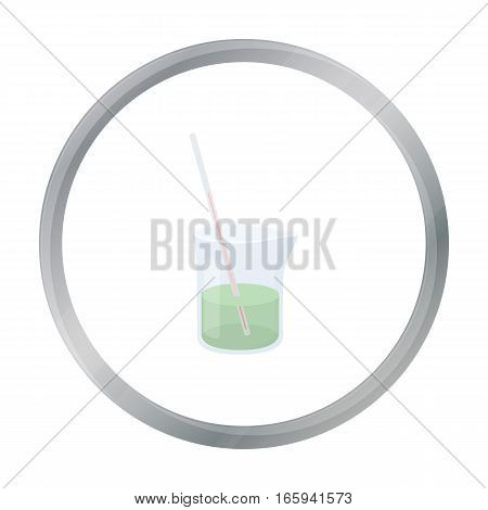 Mixture icon cartoon. Single medicine icon from the big medical, healthcare cartoon. - stock vector