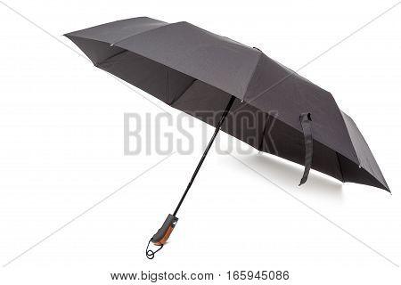 Fashionable umbrella isolated on a white background.