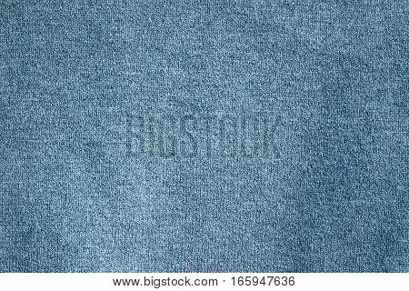 blue corcheted textured material ready for your design