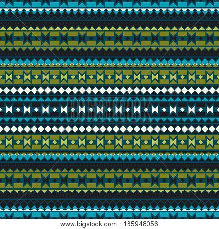 Seamless geometric pattern in ethnic style. Patterns of American Indians. The texture of the cover, fabric, background, paper, wrapping.
