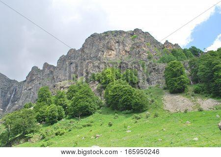 landscape nature Walk in Old Mountain Bulgaria