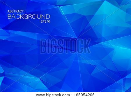 Abstract 2D geometric colorful background. Vector for your design.
