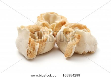 Some Tiliccas cakes on a white background