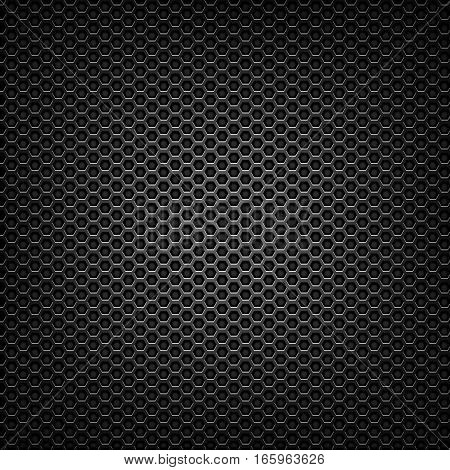 matte black mesh metal grill texture closeup detail
