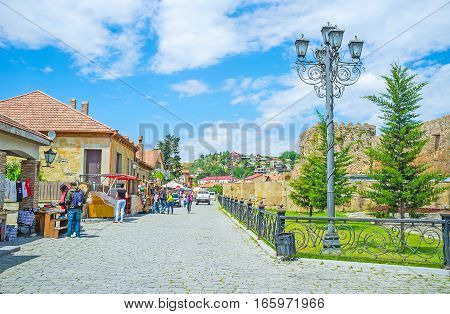 The Tourist City Of Mtskheta