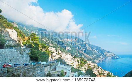 The Twisted Road Of Amalfi Coast