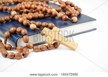 Holy Bible And Rosary